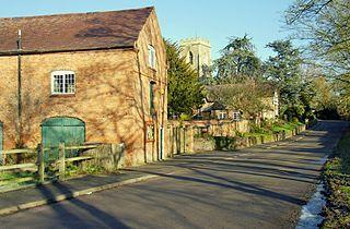 Shenton human settlement in United Kingdom