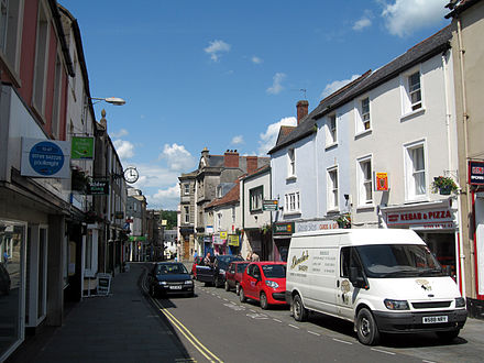 The High Street shops