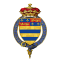Shield of arms of John Manners, 7th Duke of Rutland, KG, GCB, PC.png