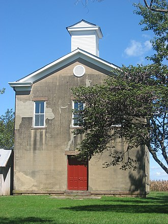 Shiloh College - Image: Shiloh College building in Shiloh Hill