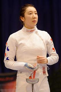 Shin A-lam South Korean épée fencer