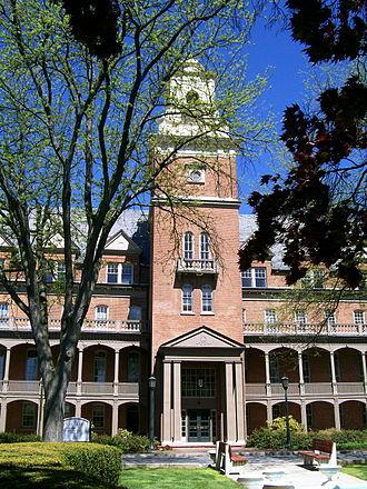Shippensburg, Pennsylvania - Old Main at Shippensburg University