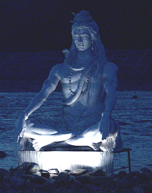 Jangam - Lord Shiva in Anantadrishti of Infinite Vision.