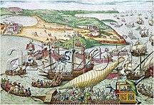 Tunisia-Ottoman Tunisia-Siège de Tunis 1535