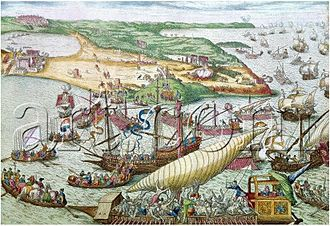 Tunisia - Conquest of Tunis by Charles V and liberation of Christian galley slaves in 1535