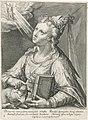 Sibille van Erythrae Sibylla Erythrea. (titel op object) Sibillen (serietitel), RP-P-OB-2230.jpg