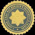 Siegelmarke 1. Garde-Dragoner-Regiment Königin von Großbritannien und Irland W0379176.jpg