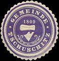 Siegelmarke Gemeinde Tschuschitz W0319976.jpg