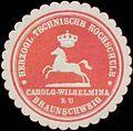 Siegelmarke H. Technische Hochschule Carolo-Wilhelmina zu Braunschweig W0350574.jpg