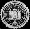 Siegelmarke Königliche Staatsanwaltschaft - Guben W0221386.jpg