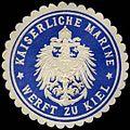 Siegelmarke Kaiserliche Marine - Werft Kiel W0307480.jpg