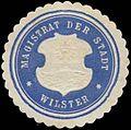 Siegelmarke Magistrat der Stadt Wilster W0325804.jpg