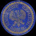 Siegelmarke Stadtgemeinde Verwaltung Harburg W0392513.jpg