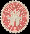 Siegelmarke Stadtmagistrat Meran W0327843.jpg