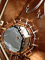 Silicon carbide mirror subjected to thermal–vacuum testing ESA377848.jpg