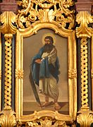 Apostle Simon with a saw