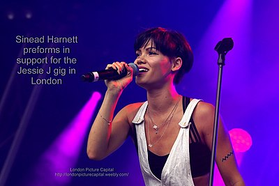 Picture of a band or musician: Sinead Harnett