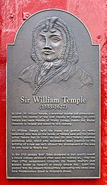 Sir William Temple Plaque - Temple Bar, Dublin, Ireland - August 2008.jpg