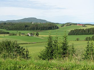 Ogndal - View of the Skei area in Ogndal