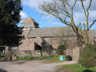 St Bridgets Church, Skenfrith Church in Monmouthshire, Wales