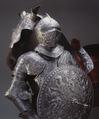 Sluten hjälm till paradrustning som tillhört Erik XIV - Livrustkammaren - 47403.tif