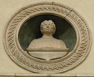 Antonio Squarcialupi - Bust of Antonio Squarcialupi by Benedetto da Maiano, Florence Cathedral