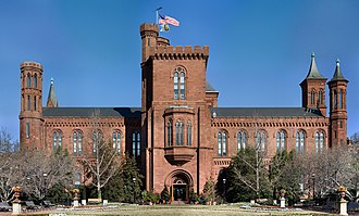 "Smithsonian Institution - The ""Castle"" (1847), the Institution's first building and still its headquarters"