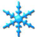 Snow flake skyblue.png
