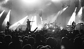 System of a Down under en konsert i Chile 2011