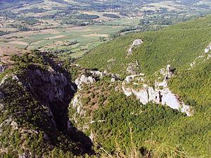 Soko Grad (Sokobanja) - A look at the remains and the terrain