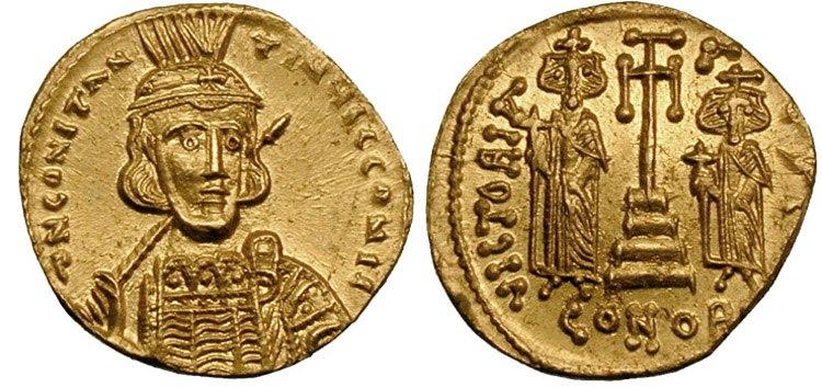 Solidus-Constantine IV-sb1151