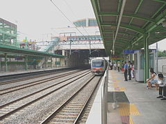 SongtanStationtraintoSeoul.jpg