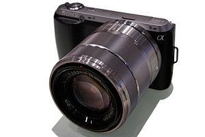 Sony NEX-C3 - Image: Sony NEX C3 01s 4500