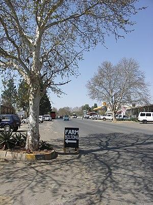 Winterton, KwaZulu-Natal - Main road in Winterton