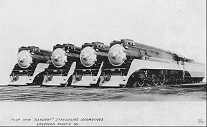 Southern Pacific GS-3 locomotives