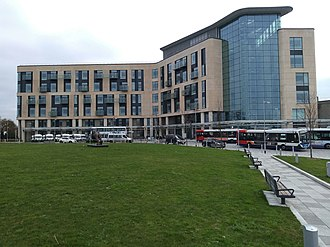 Southmead Hospital - North end of Brunel Building