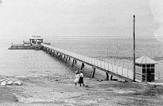 Southport Pier, Gold Coast - Southport Pier, 1915