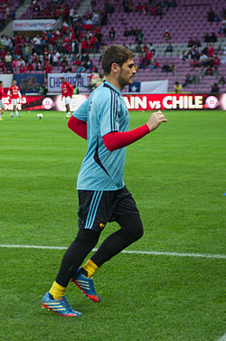 Spain - Chile - 10-09-2013 - Geneva - Iker Casillas.jpg
