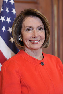 Portrait officiel de Nancy Pelosi.