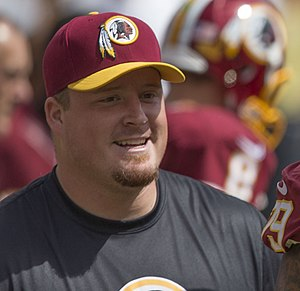 Spencer Long - Long with the Washington Redskins in 2015