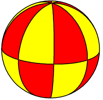 Triangle group - Image: Spherical octagonal bipyramid 2