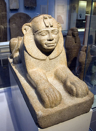 Sphinx of Taharqo - Image: Sphinx of Taharqo