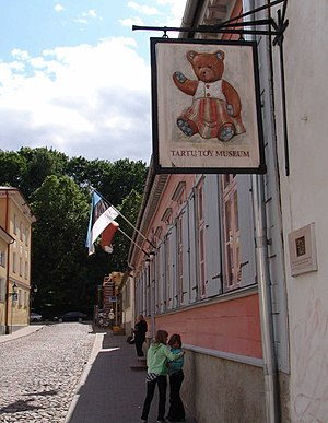 Tartu Toy Museum - Image: Spielzeugmuseum tartu