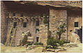 Spruce tree house and south section of the ruins, Manitou Cliff Dwellings, Manitou Springs, Colorado. (7725176308).jpg