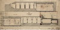 St-Servaaskerk, bouwtekening crypten, Cuypers (RCE).jpg
