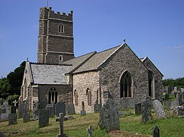 St.Peter's church, Westleigh, Devon - geograph.org.uk - 42528.jpg