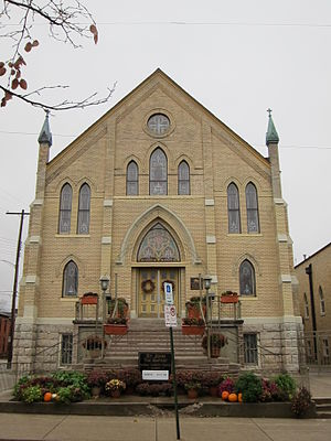 Roman Catholic Diocese of Columbus - Saint John the Baptist Italian Catholic Church of the North High Deanery