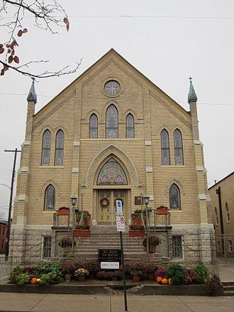 Roman Catholic Diocese of Columbus - Saint John the Baptist Italian Catholic Church of the North High Deanery