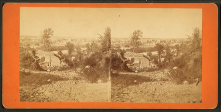 Stereoscopic view of St. Paul