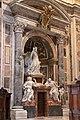 St. Peter's Basilica, Monument to Pope Benedict XIV, by Pietro Bracci, 1769 (48466620122).jpg